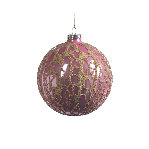 Abstract Beaded Hanging Ball Ornaments