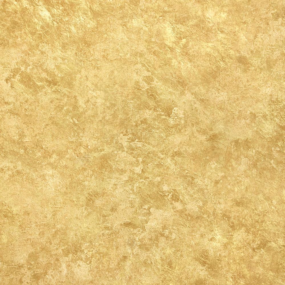 Abstract Crackle Wallpaper in Gold from the Precious Elements Collection by Burke Decor