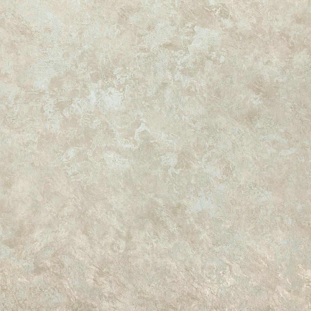 Sample Abstract Crackle Wallpaper in Silver and Duck Egg from the Precious Elements Collection by Burke Decor