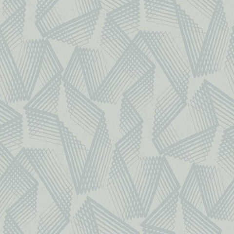 Acceleration Peel & Stick Wallpaper in Grey and Silver by RoomMates for York Wallcoverings