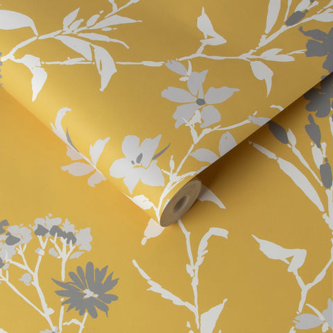 Aeris Wallpaper in Summer from the Exclusives Collection by Graham & Brown