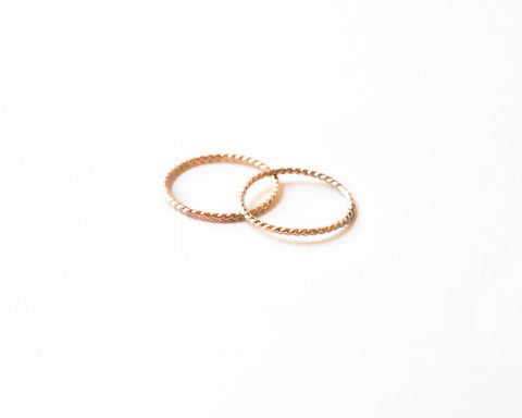 Becca Twist Ring design by Agapantha