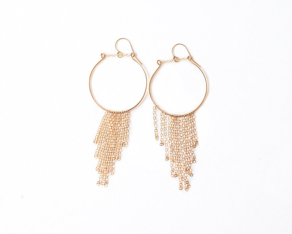 Vega Waterfall Earrings design by Agapantha