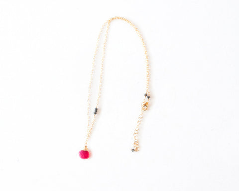 Nichole Single Stone Necklace