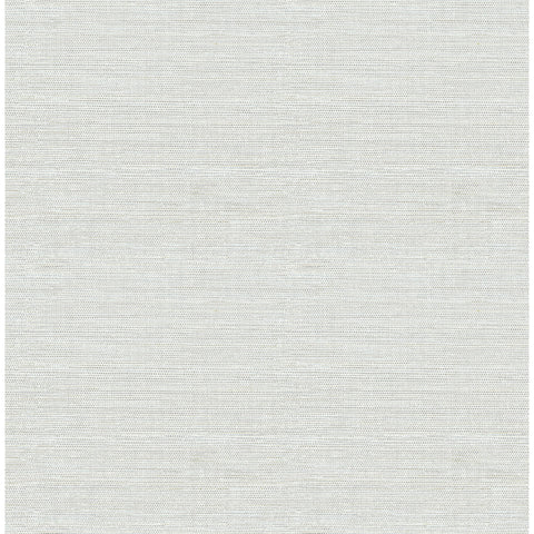 Agave Imitation Grasscloth Wallpaper in Grey from the Pacifica Collection by Brewster Home Fashions