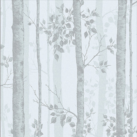 Albero Wallpaper in Duck Egg from the Exclusives Collection by Graham & Brown