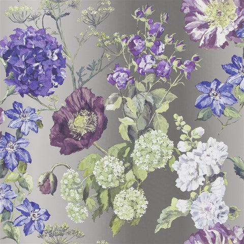 Alexandria Wallpaper in Amethyst from the Edit Vol. 1 Collection by Designers Guild