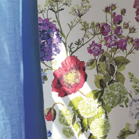 Alexandria Wallpaper in Magenta from the Edit Vol. 1 Collection by Designers Guild