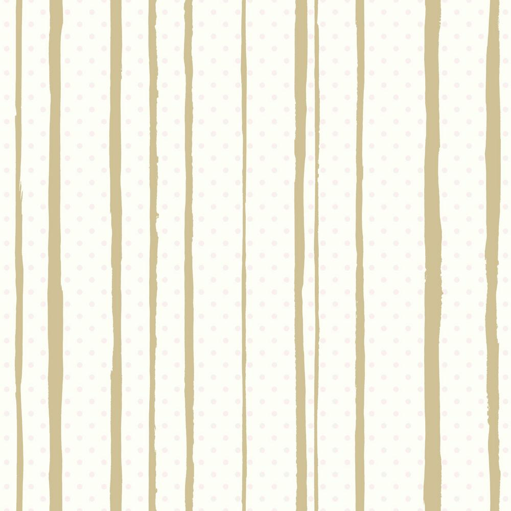 All Mixed Up Peel Stick Wallpaper In Pink And Gold By