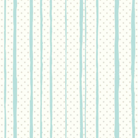 Sample All Mixed Up Peel & Stick Wallpaper in Silver and Teal by RoomMates for York Wallcoverings