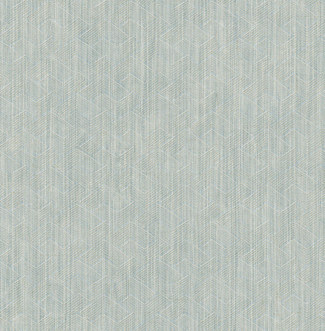 Alps Wallpaper in Blue from the Stark Collection by Mayflower Wallpaper