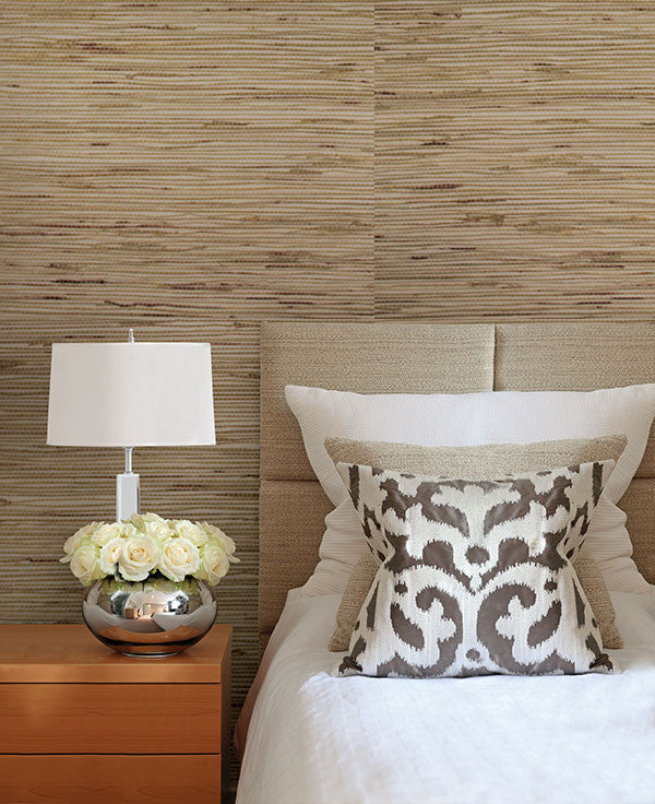 Andrei Olive Grasscloth Wallpaper From The Jade Collection By Brewster Home  Fashions ...
