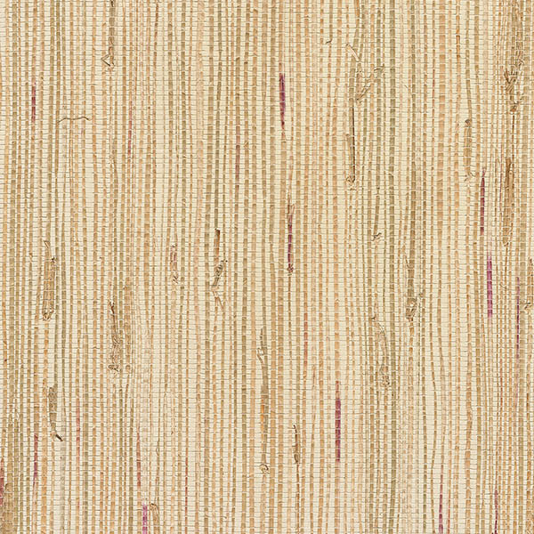 Andrei Olive Grasscloth Wallpaper From The Jade Collection