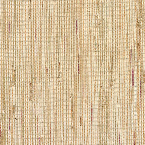 Andrei Olive Grasscloth Wallpaper from the Jade Collection by Brewster Home Fashions