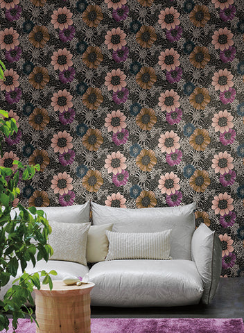 Anemones Wallpaper by Missoni Home for York Wallcoverings