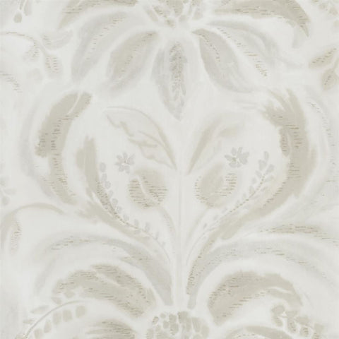 Angelique Damask Wallpaper in Linen from the Tulipa Stellata Collection by Designers Guild