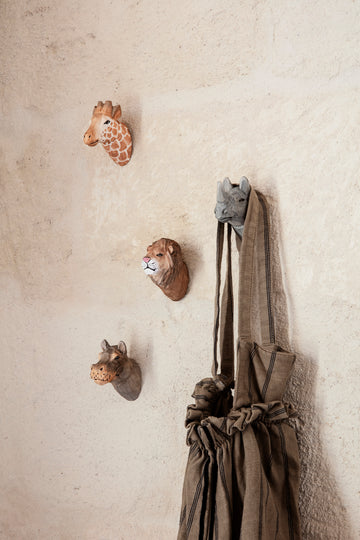 Animal Hand-Carved Hook by Ferm Living