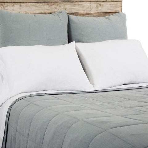 Antwerp Bedding in Sky design by Pom Pom at Home