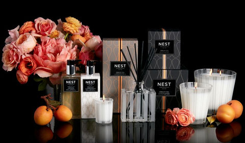 Apricot Tea Reed Diffuser design by Nest Fragrances
