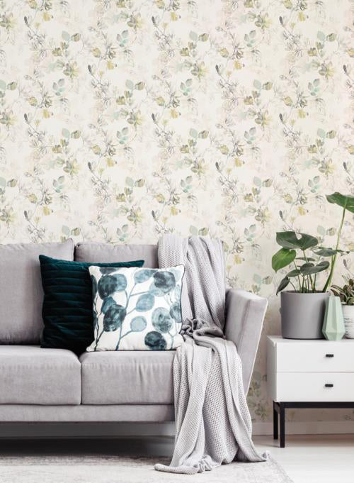 Arbor Vine Wallpaper from the Impressionist Collection by York Wallcoverings