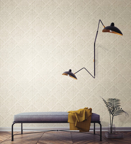 Architect Wallpaper from the Moderne Collection by Stacy Garcia for York Wallcoverings