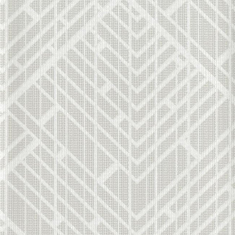 Sample Architect Wallpaper in Grey from the Moderne Collection by Stacy Garcia for York Wallcoverings