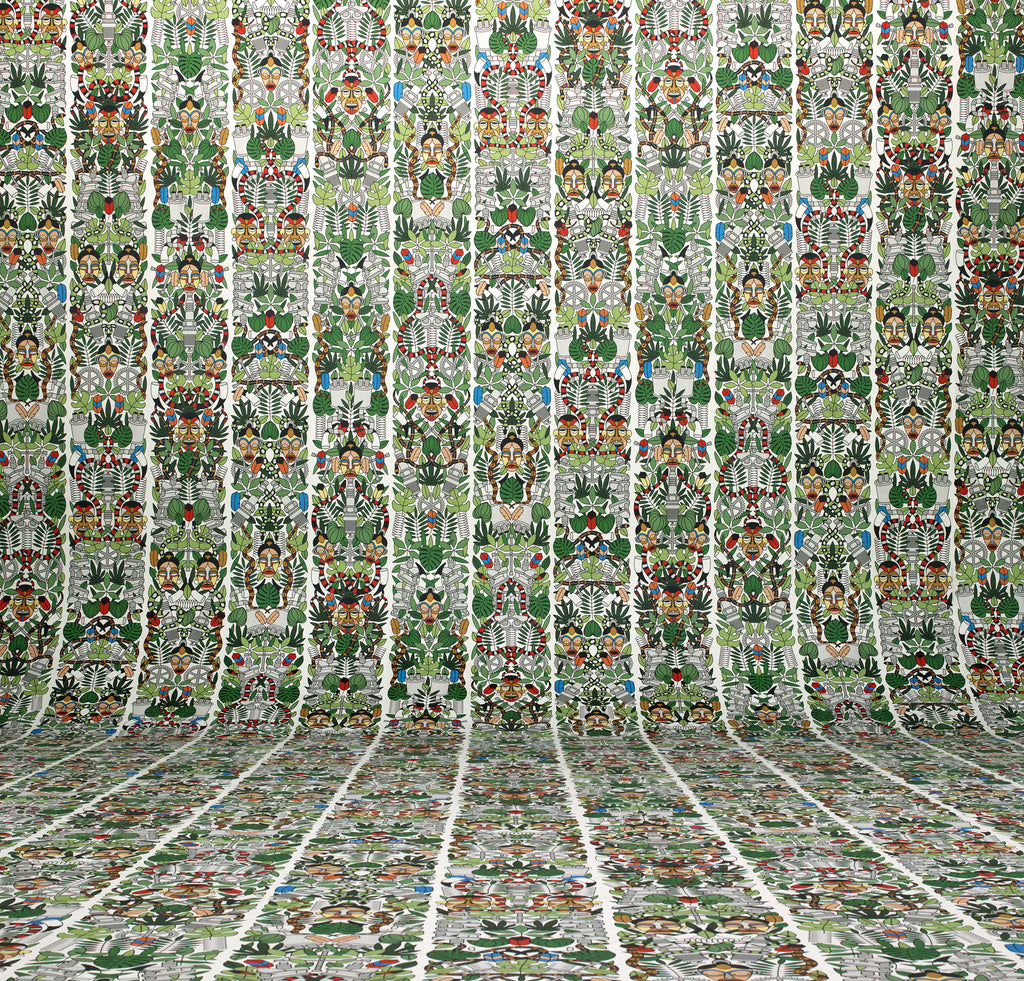 Archives Collection L'Afrique Wallpaper design by Studio Job for NLXL Wallpaper