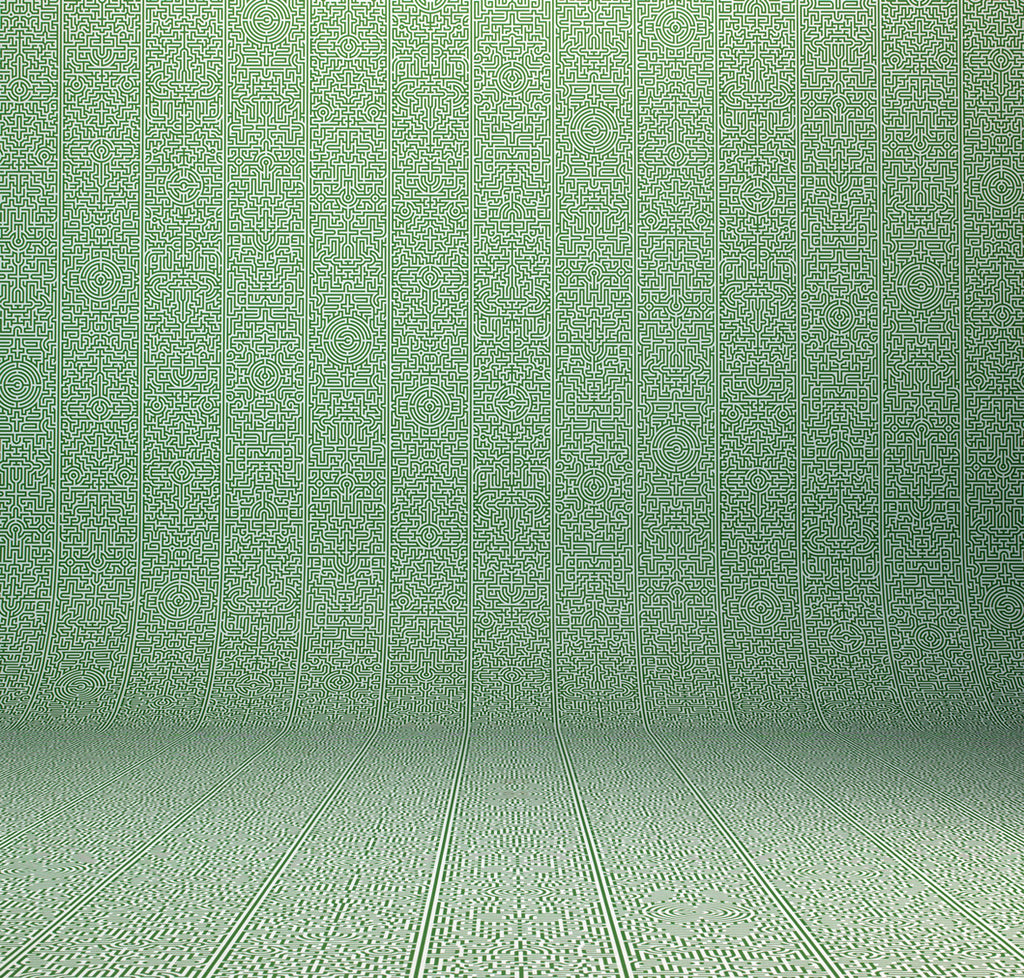 Archives Collection Labyrinth Wallpaper design by Studio Job for NLXL Wallpaper