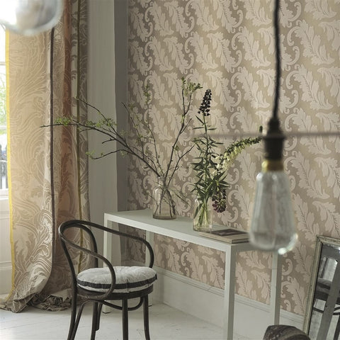 Ardassa Wallpaper from the Alexandria Collection by Designer's Guild