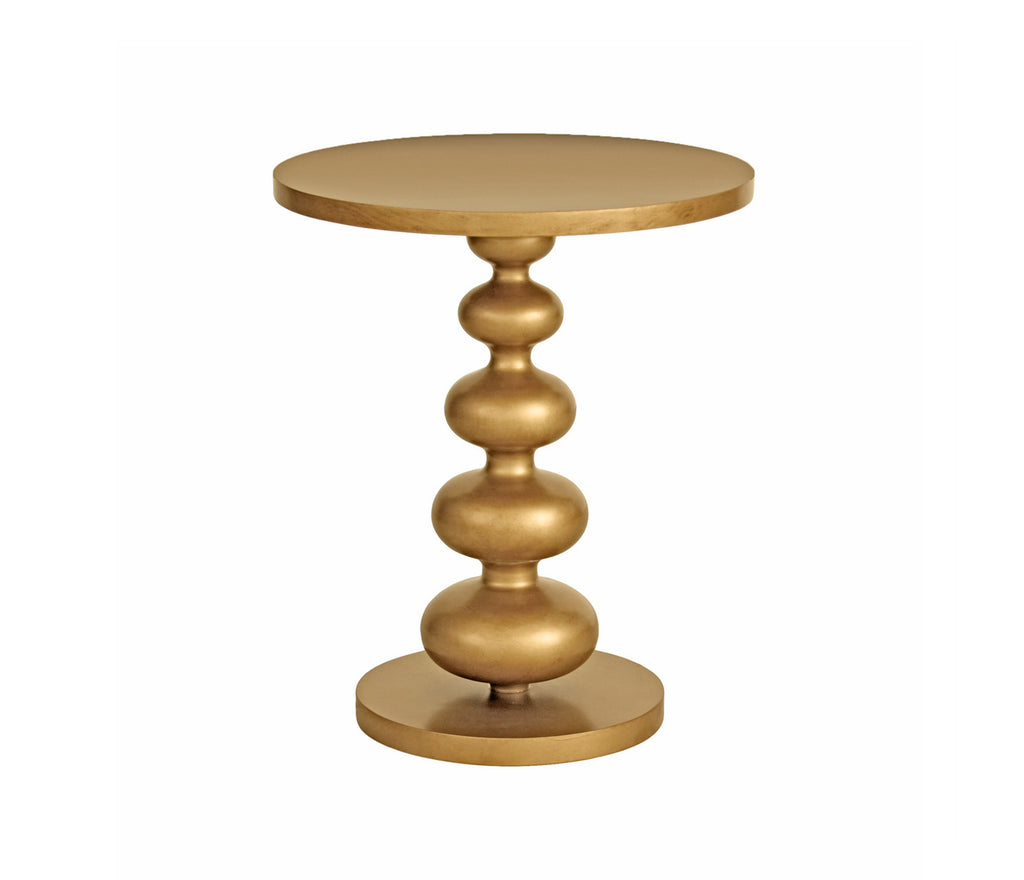 Arden Side Table in Antique Gold design by Redford House