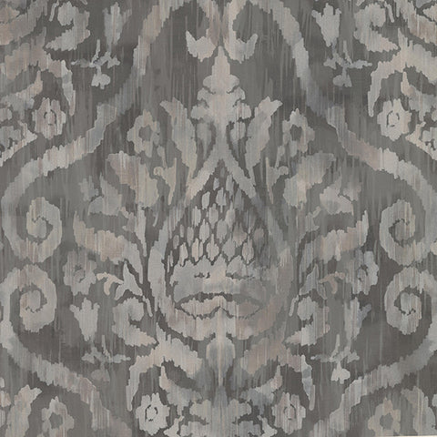 Argos Cafe Damask Wallpaper from the Savor Collection by Brewster Home Fashions