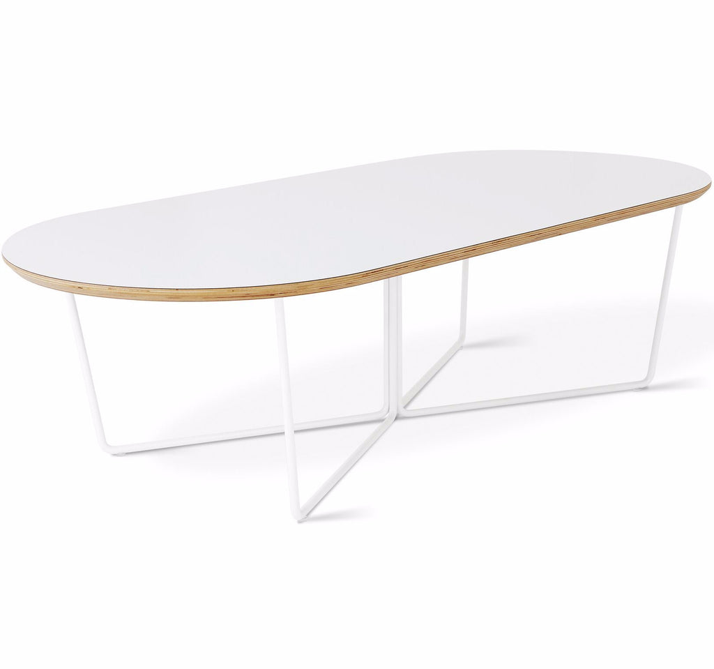 Array Oval Coffee Table in Various Colors design by Gus Modern