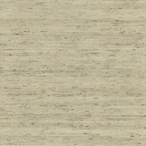 Sample Arrowroot Grasscloth Wallpaper in Blue from the Water's Edge Collection by York Wallcoverings