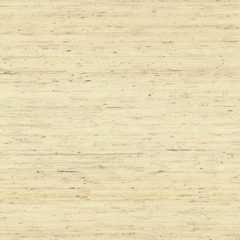 Sample Arrowroot Grasscloth Wallpaper in Cream from the Water's Edge Collection by York Wallcoverings