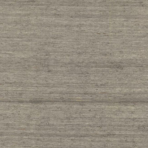 Sample Arrowroot Grasscloth Wallpaper in Driftwood from the Water's Edge Collection by York Wallcoverings