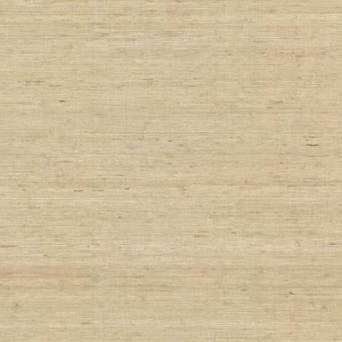 Sample Arrowroot Grasscloth Wallpaper in Sand from the Water's Edge Collection by York Wallcoverings