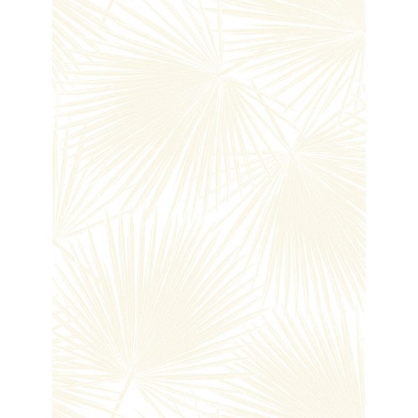 Aruba Wallpaper in Ivory and Beige from the Tortuga Collection by Seabrook Wallcoverings