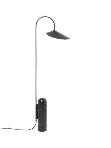 Arum Floor Lamp in Black by Ferm Living