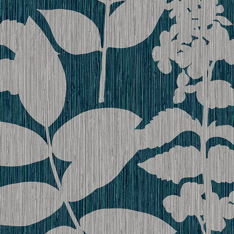 Aspen Wallpaper in Teal from the Exclusives Collection by Graham & Brown