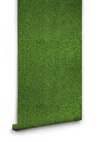Sample Artificial Turf Wallpaper design by Milton & King