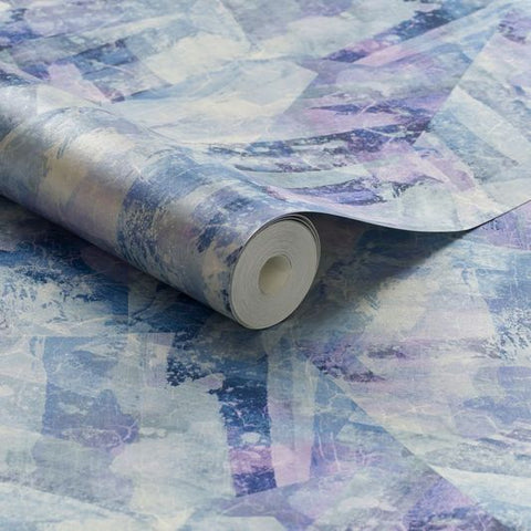 Aura Aquamarine Wallpaper from the Exclusives Collection by Graham & Brown