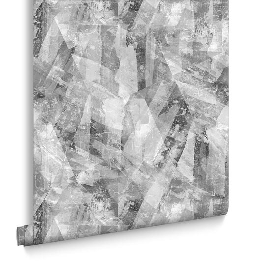 Sample Aura Slate Wallpaper from the Exclusives Collection by Graham & Brown