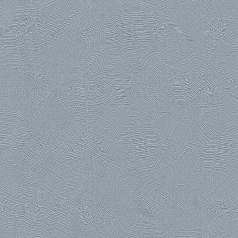 Sample Aura Wallpaper in Blue from the Terrain Collection by Candice Olson for York Wallcoverings