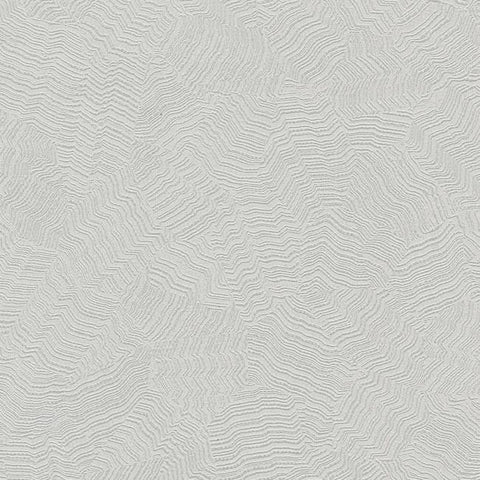 Sample Aura Wallpaper in Ivory and Pearlescent Beige from the Terrain Collection by Candice Olson for York Wallcoverings