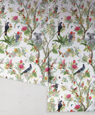 Australia Wallpaper in Canvas from the Kingdom Home Collection by Milton & King