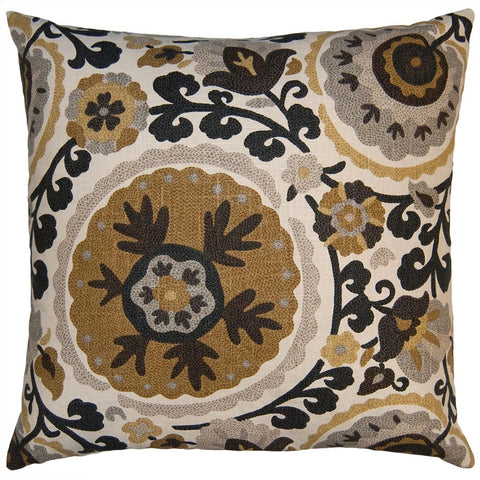 Autumn Floral Pillow in Various Sizes