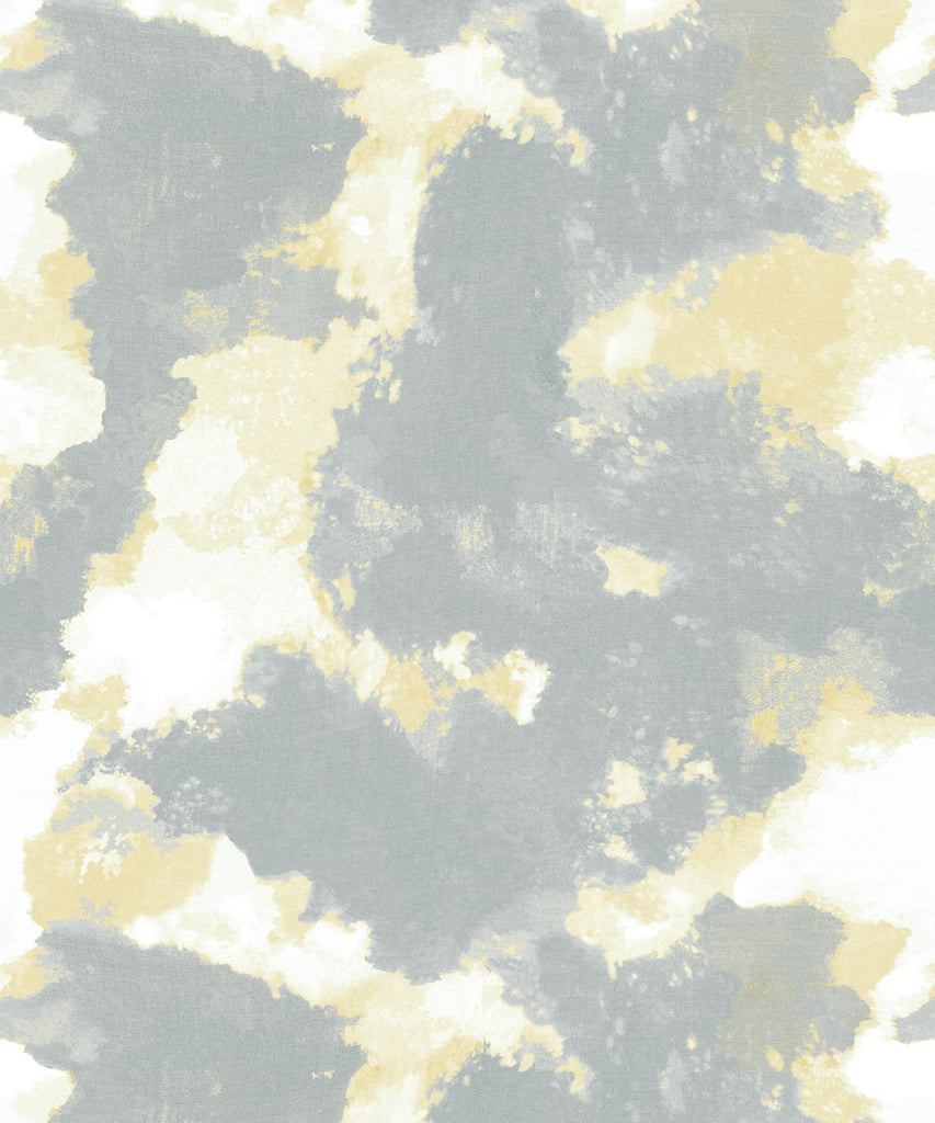 Autumn Path Wallpaper in Bronze from the Shibori Collection by Milton & King