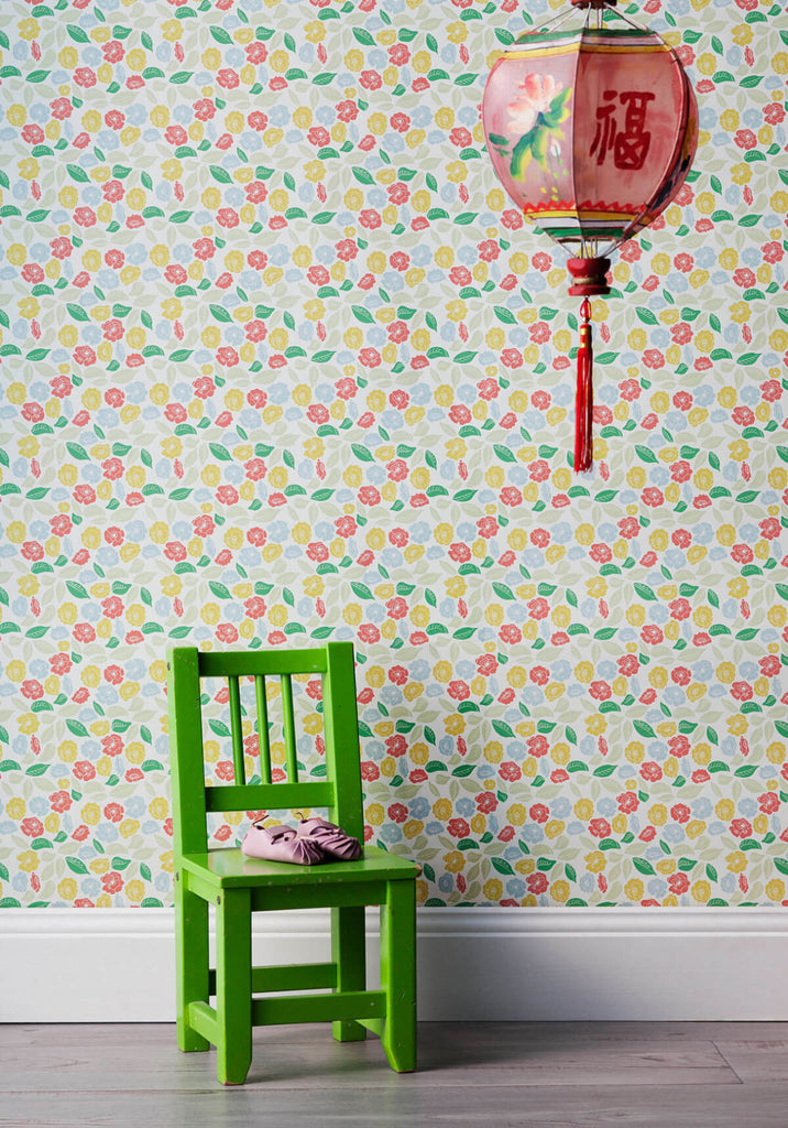 Autumn Bloom Wallpaper from the Love Mae Collection by Milton & King