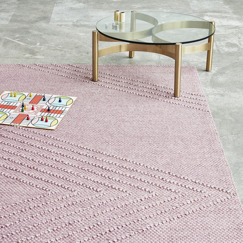Avro Rug in Lilac by Gus Modern