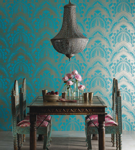 Azari Wallpaper by Matthew Williamson for Osborne & Little